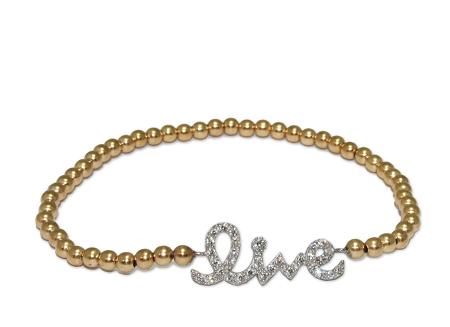 Gold w/Silver Pendant