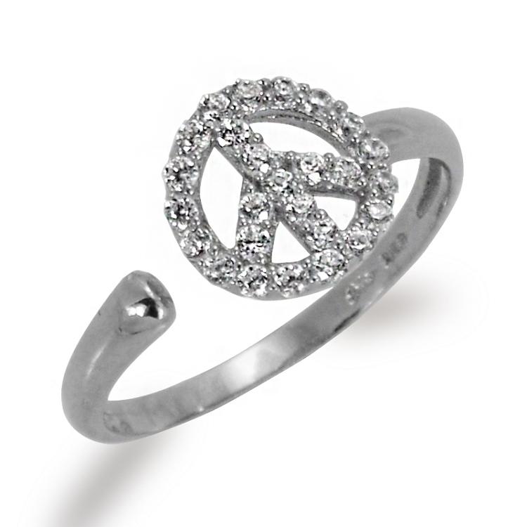 Peace Symbol Bzk Jewelry