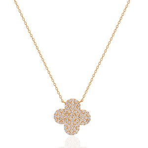 Rose Gold Clover