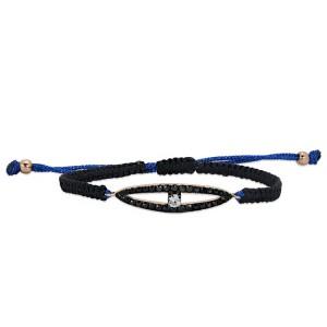 Gold Rose/Blue String