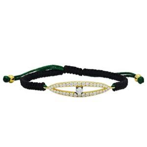 Gold/Green String