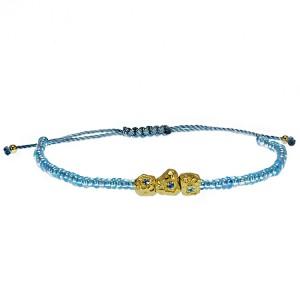 Gold/Blue String