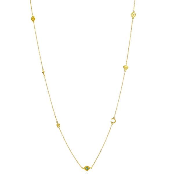 Gold Multi Amulets