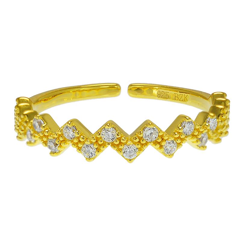 Zig Zag Jewellery: Zig Zag Ring